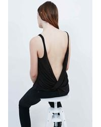 Sparkle & Fade - Wrap-back Cami In Black - Lyst