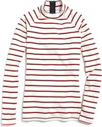 Madewell Longsleeve Rash Guard in League Stripe - Lyst