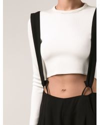 Shaina Mote - High Waisted Suspender Trousers - Lyst