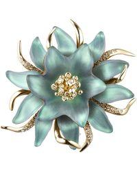 Alexis Bittar Vert D'Eau Flower Fine Pin - Lyst
