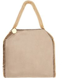 Stella McCartney Nude Falabella Faux Leather Bag - Lyst