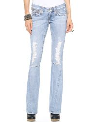 True Religion Joey Flare Jeans 15 Destroyed - Lyst