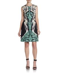 Peter Pilotto Silk Alexa Printed Dress - Lyst