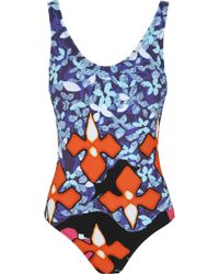 Peter Pilotto - Printed Swimsuit - Lyst
