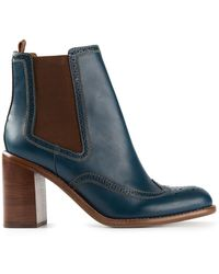 See By Chloé Brogue Boots - Lyst