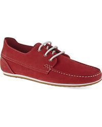 KG by Kurt Geiger Southwell Boat Shoes - For Men - Lyst