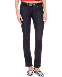 7 For All Mankind The Modern Straight Leg Jeans - Ink Rinse - Lyst