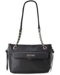 Kenneth Cole Reaction Black Binky Shoulder Bag - Lyst