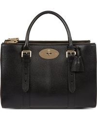 Mulberry Bayswater Double Zip Tote - For Women - Lyst