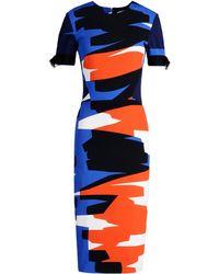 Mugler 3/4 Length Dress - Lyst