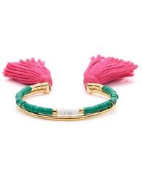 Aurélie Bidermann Howlite Sioux bracelet - Metallic uqlsM