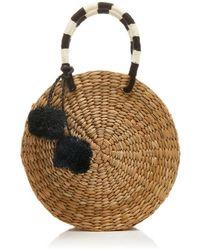 Kayu - Isabel Pom-pom Embellished Tote - Lyst