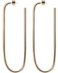 Jennifer Fisher - Oval Shape Hoops - Lyst