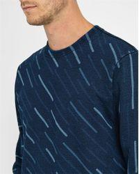 G-Star RAW | Blue Marc Newson Printed Round-neck Sweatshirt | Lyst