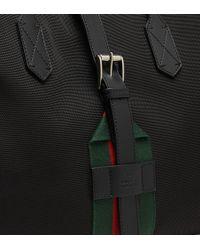 Gucci - Black Techno Canvas Tote Bag - Lyst