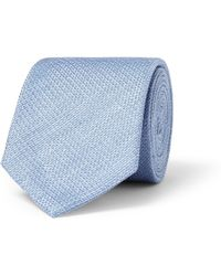 Gucci Linen and Silk-blend Tie - Lyst