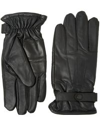 Barbour | Burnished Leather Thinsulate Glove | Lyst