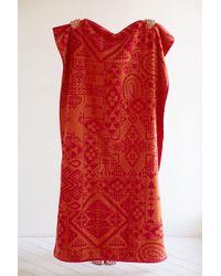 Pendleton Bandana Jacquard Towel pink - Lyst