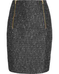 Day Birger et Mikkelsen - Metallic Tweed and Jacquard Pencil Skirt - Lyst
