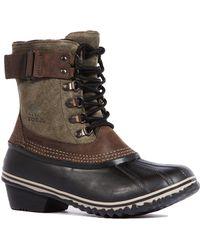 Sorel Winter Fancy Lace Boot - Lyst