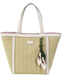 Cole Haan Jardine Leathertrimmed Small Tote Bag - Lyst