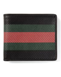 Gucci Perforated Wallet - Lyst