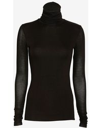 Twenty Knit Turtleneck Black - Lyst