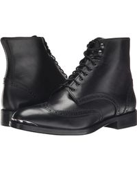 The Kooples - Smooth Leather Military Boot - Lyst