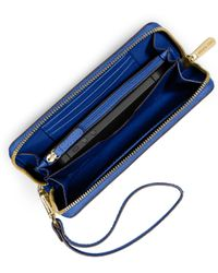 Michael Kors Jet Set Travel Large Phone Wristlet For Iphone And Samsung - Lyst