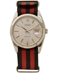 CMT Fine Watch And Jewelry Advisors - Vintage Rolex Oysterdate with Manual Wind and Striped Nato - Lyst