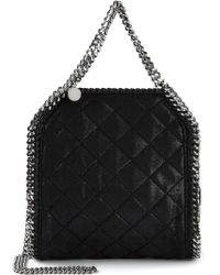 Stella McCartney 'Falabella' Quilted Tote - Lyst