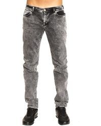 Versus  Jeans Denim Used Slim - Lyst