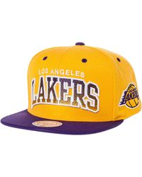 Mitchell & Ness The Los Angeles Lakers Arch Gradient Snapback - Lyst