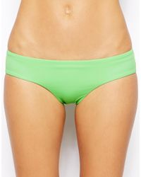 Asos Mix and Match Deep Hipster Bikini Pant - Lyst