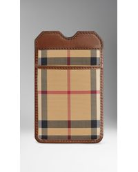 Burberry Horseferry Check Iphone 55s Case - Lyst