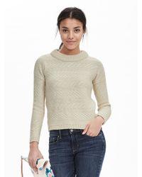 Banana Republic | Blanket-stitch Pullover | Lyst