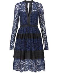 Temperley London Newton Lace Dress - Lyst