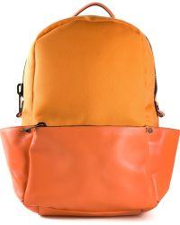 Calvin Klein 'Runway' Backpack orange - Lyst