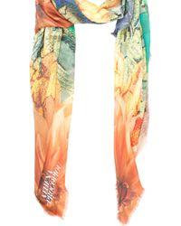 Athena Procopiou - Borneo Print Modalcshmr Scarf - Lyst