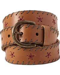 White Stuff - Whipstitch Belt - Lyst