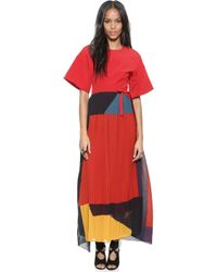 Issa Gabriella Dress - Onyx Multi - Lyst