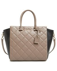 Kate Spade 'Emerson Place - Hayden' Quilted Leather Satchel - Lyst