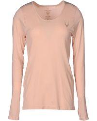 Lucas Hugh T-Shirt pink - Lyst