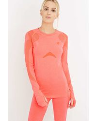 Y.A.S. Sport - Anatomy Long Sleeve Pink Top - Lyst