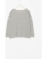 Cos Relaxed Striped Jumper - Lyst