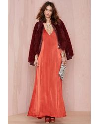 Nasty Gal After Party Dream On Maxi Dress - Lyst