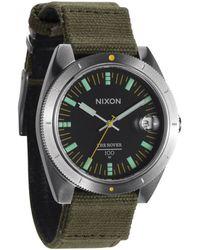 Nixon The Rover Surplus Black Watch green - Lyst