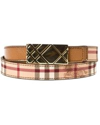Burberry B Belt - Lyst