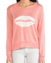 Townsen - Lips Sweater - Lyst