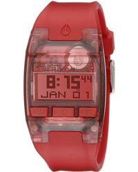 Nixon The Comp S red - Lyst